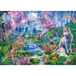 Clementoni® Puzzle Moonlit Wild, 3000 Puzzleteile