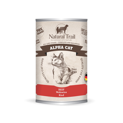 5x400g  + 400g GRATIS Natural Trail ALPHA CAT  Super Premium Nassfutter für Katzen Katzenfutter