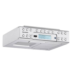 Karcher RA 2030D Unterbauradio DAB+ USB Silber