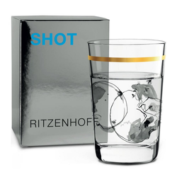 Ritzenhoff Schnapsglas Next Shot Peter Pichler Schädel 40 ml, Kristallglas