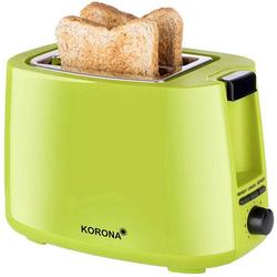 Korona 21133 Toaster mit Brötchenaufsatz Grün