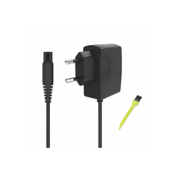 neue dawn Elektrorasierer Elektrorasierer Ladegerät 15V 0.5A für Philips HQ7200 HQ7240 HQ7260 HQ7290 Rasierer Netzteil