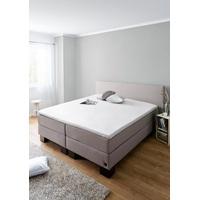 Schiesser Spannbettlaken Jersey-Elasthan Topper, mit einer hohen Formstabilität weiß