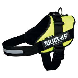 TRIXIE Szelki Julius IDC K-9 neonowy żółty, Mini/M: 49–67 cm