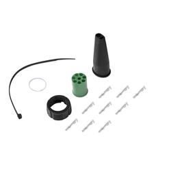 8-poliges Bajonettverbinder-Set Horpol grün