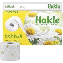 Hakle Toilettenpapier KAMILLE 3-lagig 8 Rollen