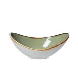 Ritzenhoff & Breker / Flirt Schale Romo in grün, 8 x 14 cm