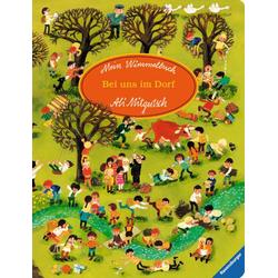 Mein Wimmelbuch: Bei uns im Dorf als Buch von