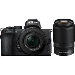 Nikon Z50 + DX 16-50mm f3,5-6,3 VR + DX 50-250mm f4,5-6, Systemkamera