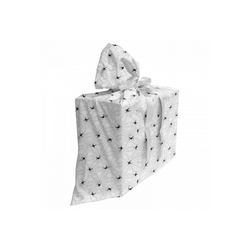 Abakuhaus Geschenkbox 3x Bändern Wiederbenutzbar, Spinnennetz Schwarz Insektennetz