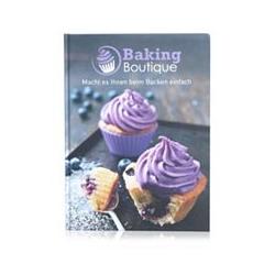 BAKING BOUTIQUE Rezeptbuch 45 Rezepte auf 112 Seiten