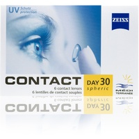 Zeiss Contact Day 30 Spheric 6 St. / 8.90 BC / 14.20 DIA / -1.25 DPT
