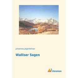 Walliser Sagen als Buch von