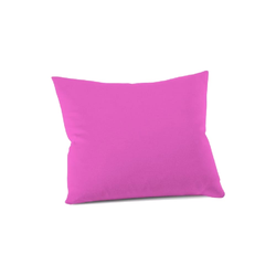 Schlafgut Kissenbezug Mako Jersey in pink, 40 x 40 cm