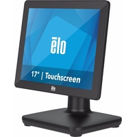 Elo Touchsystems Elo Touch Solution 17-inch (5:4) EloPOS System - Standfuß mit I/O-Hub - All-in-One (Komplettlösung) Barcode-Scanner, Schwarz