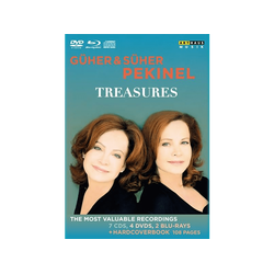 Güher & Süher Pekinel - TREASURES GUHER And SUHER PEKINEL (CD + DVD Video)