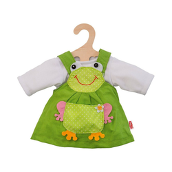 Heless Puppenkleidung Froschkleid 2tlg Gr. 28-35 cm, Puppenkleidung