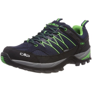 CMP – F.lli Campagnolo Herren Rigel Low Shoe Wp Trekking-& Wanderhalbschuhe, Blau (B.Blue-Gecko), 43 EU