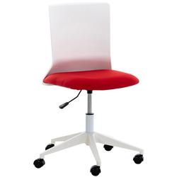 CLP Schreibtischstuhl Apolda, ergonomisch rot
