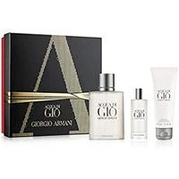 Giorgio Armani Acqua di Gio Pour Homme Eau de Toilette 100 ml + Eau de Toilette 15 ml + Shower Gel 75 ml Geschenkset