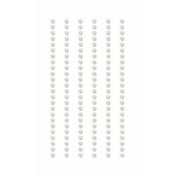 Rico Design Paper Poetry Perlen-Sticker selbstklebend 3mm à 7x15 cm