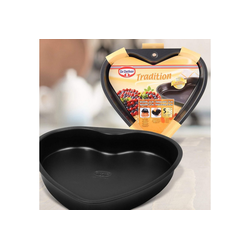 Dr. Oetker Back-Set Dr. Oetker, Herzbackform Tradition 24cm, (1-tlg)