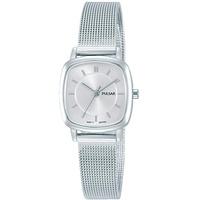 Pulsar Quarz Damen-Uhr Edelstahl mit Metallband PH8375X1