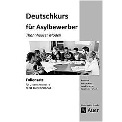 Deutschkurs für Asylbewerber - Foliensatz
