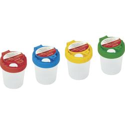 Wasserbecher 4 Farben