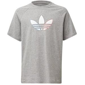 adidas Unisex-Child Tee T-Shirt, medium Grey Heather, 9 Years