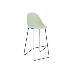 PAPERFLOW Barhocker Void (2er-Set), mit fester Sitzschale grün