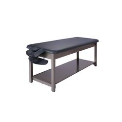 Master Massage Massageliege 76cm Bahama™ Behandlungsliege Stationärer Massagetisch Therapieliege Paket für Physiotherapie-Königsblau