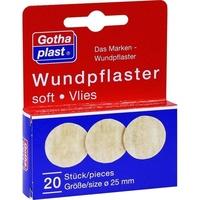 Gothaplast Wundpflaster soft/Vlies 2.5cm