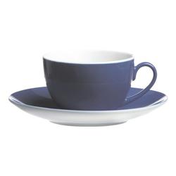 4-teiliges Kaffeetassen-Set »Doppio«, inkl. Untertassen blau, Ritzenhoff & Breker, 10x6x10 cm