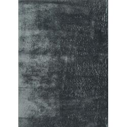Veloursteppich Lucca (Dark Grau; 160 x 230 cm)
