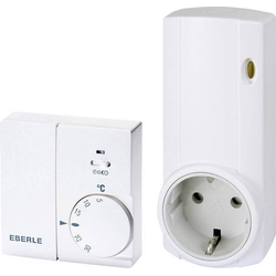 Eberle Instat 868 - a1S / r1, Set Funk-Raumthermostat-Set Wand 5 bis 30°C