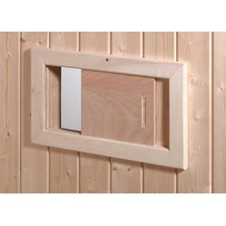 weka Lüftungsschieber, BxH: 41x23,5 cm, zur Belüftung der Sauna