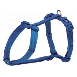 Trixie Premium H-Geschirr royalblau, Größe: L-XL