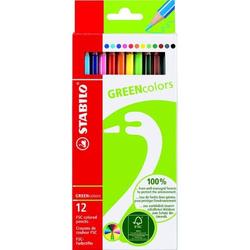 Farbstifte GREENcolors Etui mit 12 Stiften