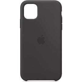 Apple iPhone 11 Silikon Case schwarz
