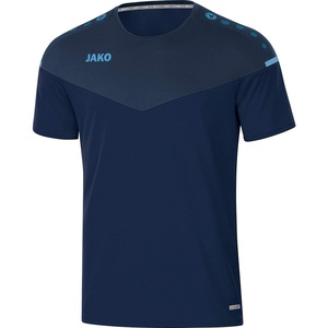 JAKO Kinder T-shirt Champ 2.0, marine/darkblue/skyblue, 116, 6120