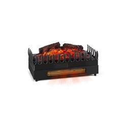 Klarstein Elektrokamin Kamini FX Elektrischer Kamin Kamineinsatz 1000/2000W 2W LED schwarz schwarz