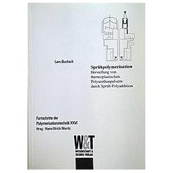 Sprühpolymerisation. Lars Bucksch  - Buch