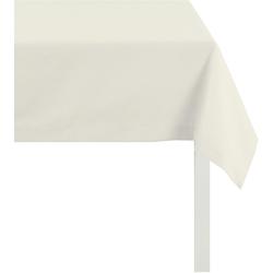 Tischdecke, 3947 OUTDOOR, Rips Uni, APELT (1-tlg.) weiß Tischdecken Tischwäsche