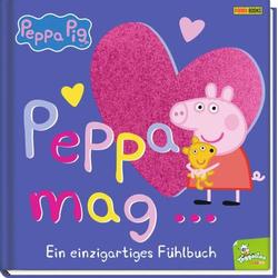 Panini Peppa Pig - Peppa mag.. Fühlbuch