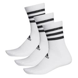 adidas Socken 3er-Pack, weiß, Gr. 43 - 45 - 43 - 45 - weiß