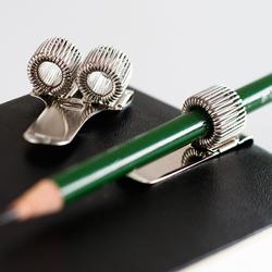 Stifthalter aus Metall für 2 Stifte