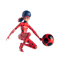 Bandai Actionfigur Ladybug Miraculous Figur Jup & Fly
