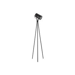 lux.pro Stehlampe, simple Sylisch, mit Stativ in schwarz