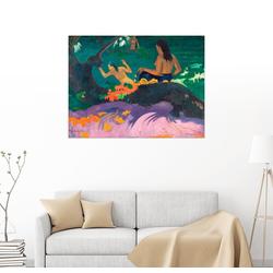 Posterlounge Wandbild, Fatata te miti (Angelehnt ans Meer) 80 cm x 60 cm